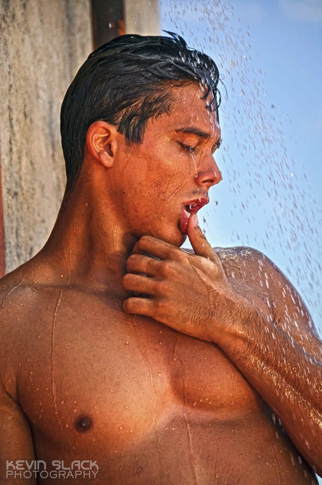 The Rooftop Shower with Michel and Jorge Luis #24