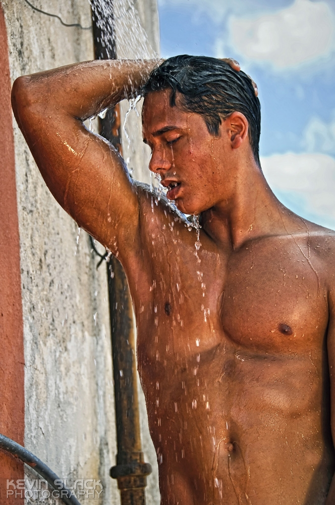 The Rooftop Shower with Michel and Jorge Luis #29