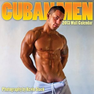 Cuban Men 2013 Wall Calendar by Kevin Slack