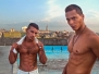 Jorge Luis and Michel at El Ponton