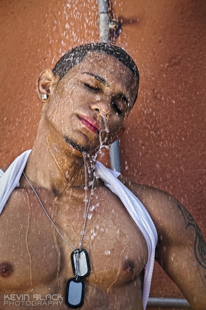 The Rooftop Shower with Michel and Jorge Luis #8